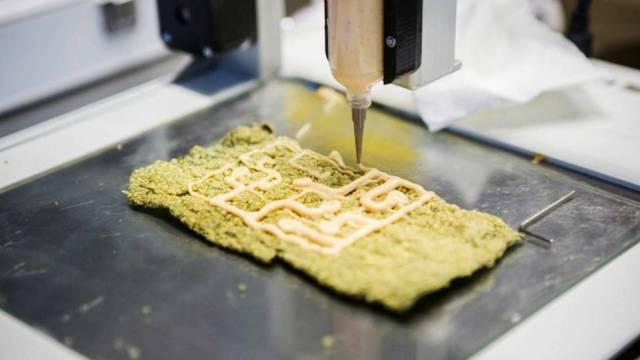Alimentos impresos en 3D pueden respaldar los esfuerzos de salud y sostenibilidad