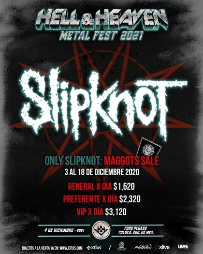 Hell and Heaven Metal Fest 2021, en diciembre