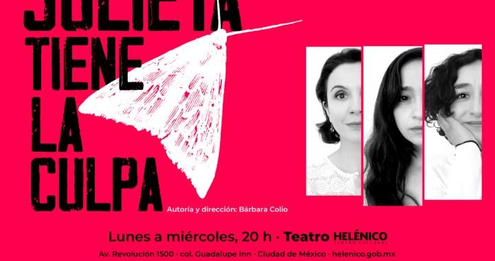 """""""Julieta tiene la culpa"""" coloca bajo un punto de vista femenino a tres personajes del teatro universal"""