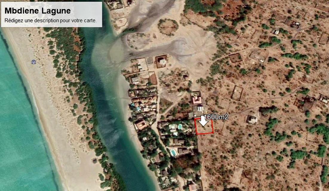 A Vendre Terrain A 200m de la Place  Mbodiene Lagune Mbour