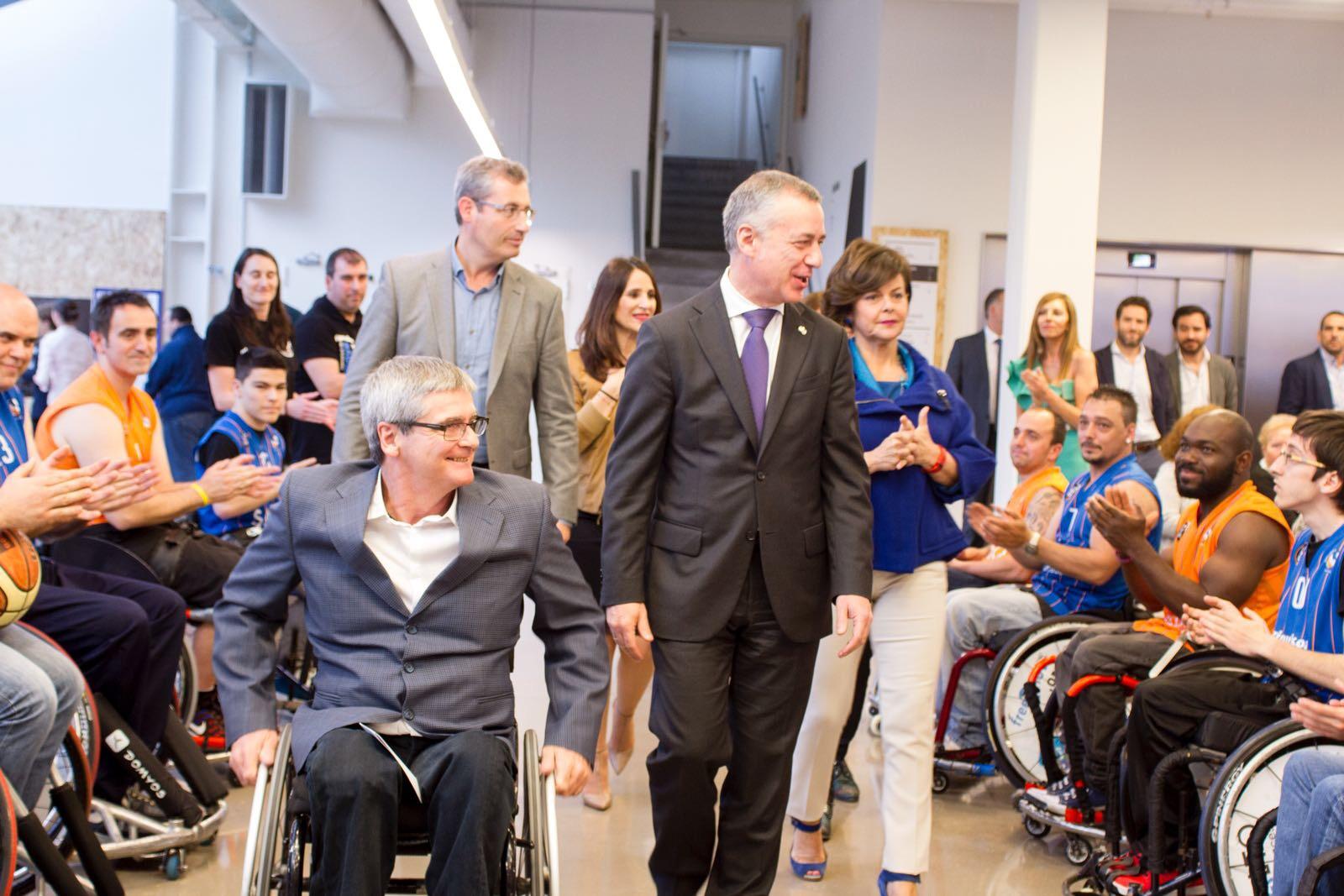 La Noche Paralímpica organizada por GaituzSport