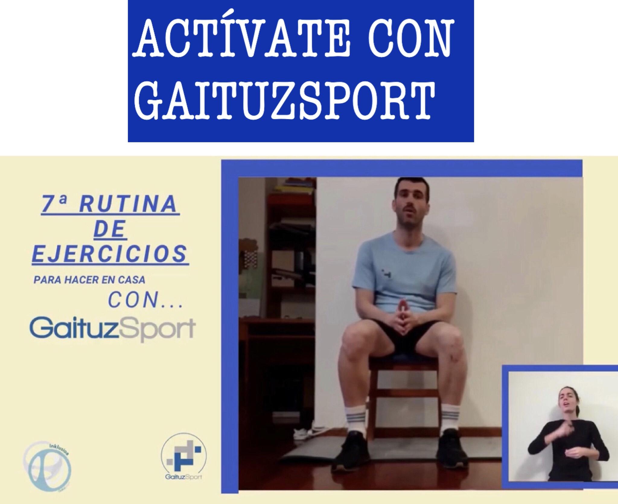 Rutina 7 Actívate con GaituzSport