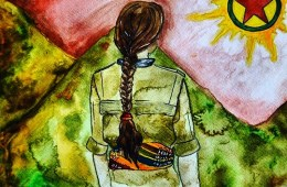 A YPJ fighter