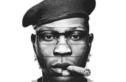 This is an image of singer of Seun Kuti