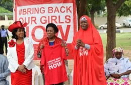 U.S. Representatives Sheila Jackson Lee and Federica Wilson in a sit-out with the BBG Group at the Unity Fountain, Abuja 3