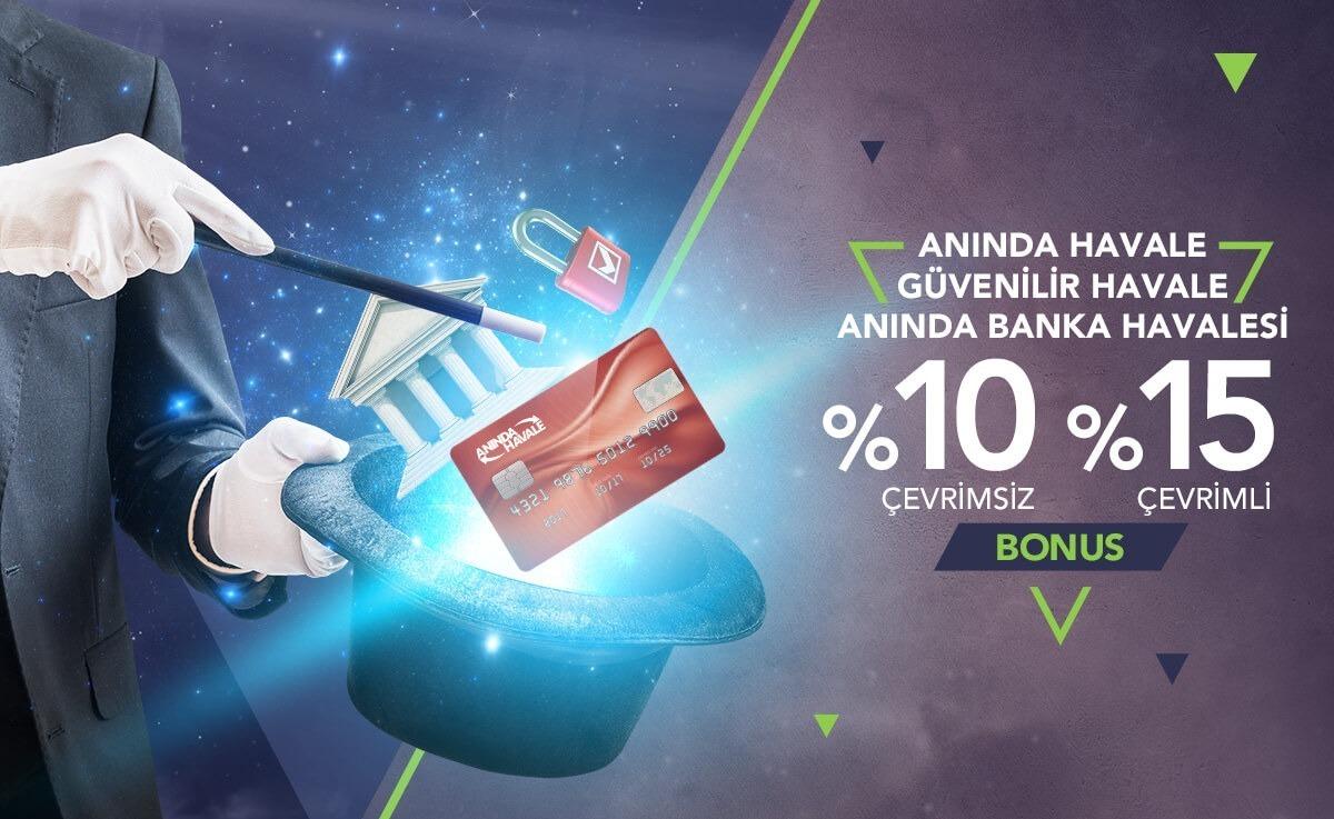Galabet Anlık Banka Havale Bonusu