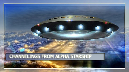 Artist's impression of the Alpha Ship