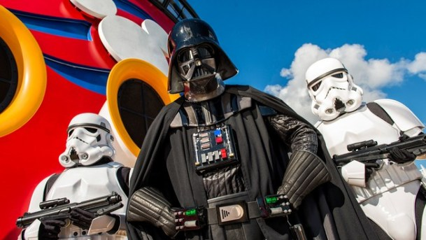 Darth Vader at Sea on Disney Cruise Lines