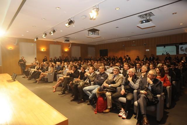 La Sala Buzzati a Milano ha ospitato il Gala del Triathlon