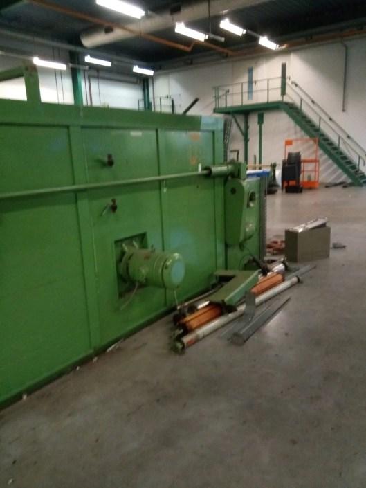 Ontmanteling Machine OWSV Galathea Oktober 2019