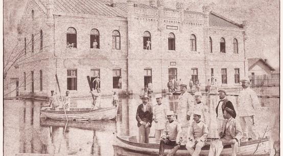 Cladirea Arsenalului de Război al Marinei Galati-Romania-anul 1910