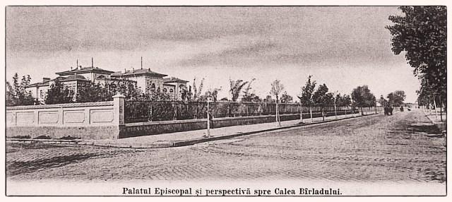 imagini vechi Galati - palatul episcopal - Calea Birladului