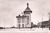 Imagini vechi din Galați - Palatul Navigației - iarna - 1936