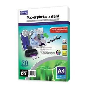 Papier photo autocollant A4