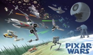 Pixar Wars by Andrew Chesworth