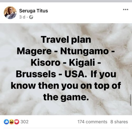 Seruga posted this 3 days back