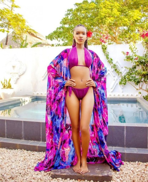 Sheila Gashumba's feet shocks nation