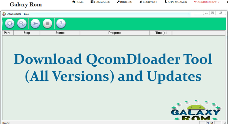 Download QcomDloader Tool (all versions) and Updates
