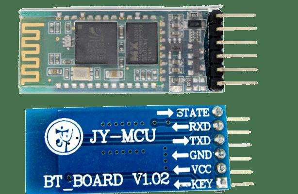 Bluetooth JY-MCU Pinouts