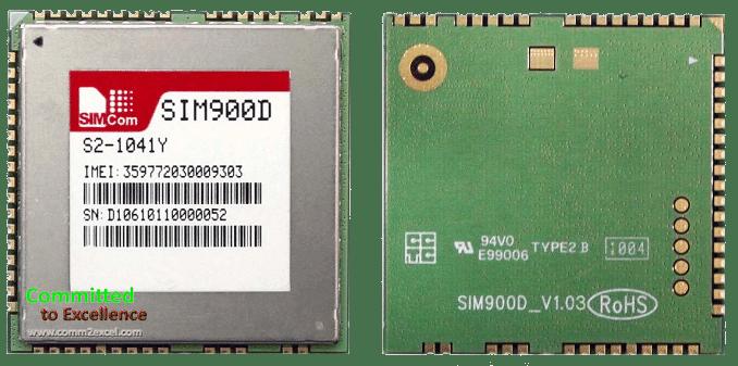 Interfacing SIM900D GSM Module Board with Arduino Mega 2560