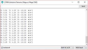 Interfacing ADXL345 Accelerometer with Arduino UNO/ Mega