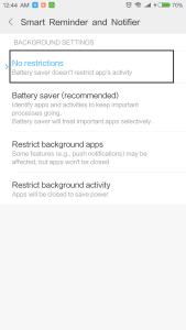 Auto Start in Xiaomi