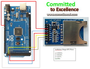 interfacing arduino with sd card module