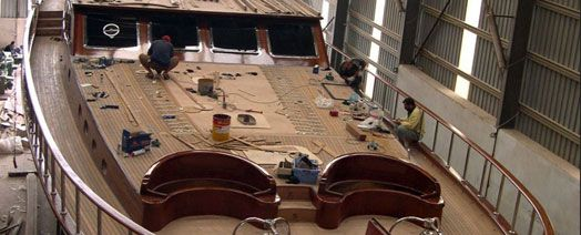Gala Project Management Yacht Building Yacht