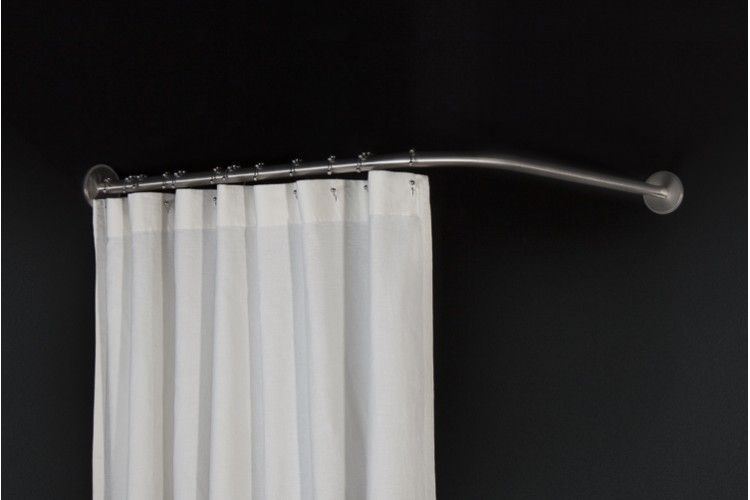 Symmetrical Corner Shower Rod 90
