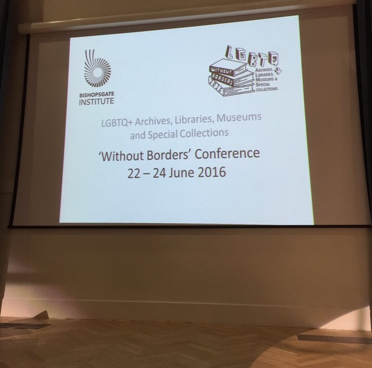 LGBTQ+ 'Without Borders' conference in London 2016