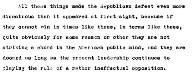 Professor Edward Mead Earle, 'U.S. Presidential Elections: The System and the Prospects'; Meetings and Speeches, 8 July 1948