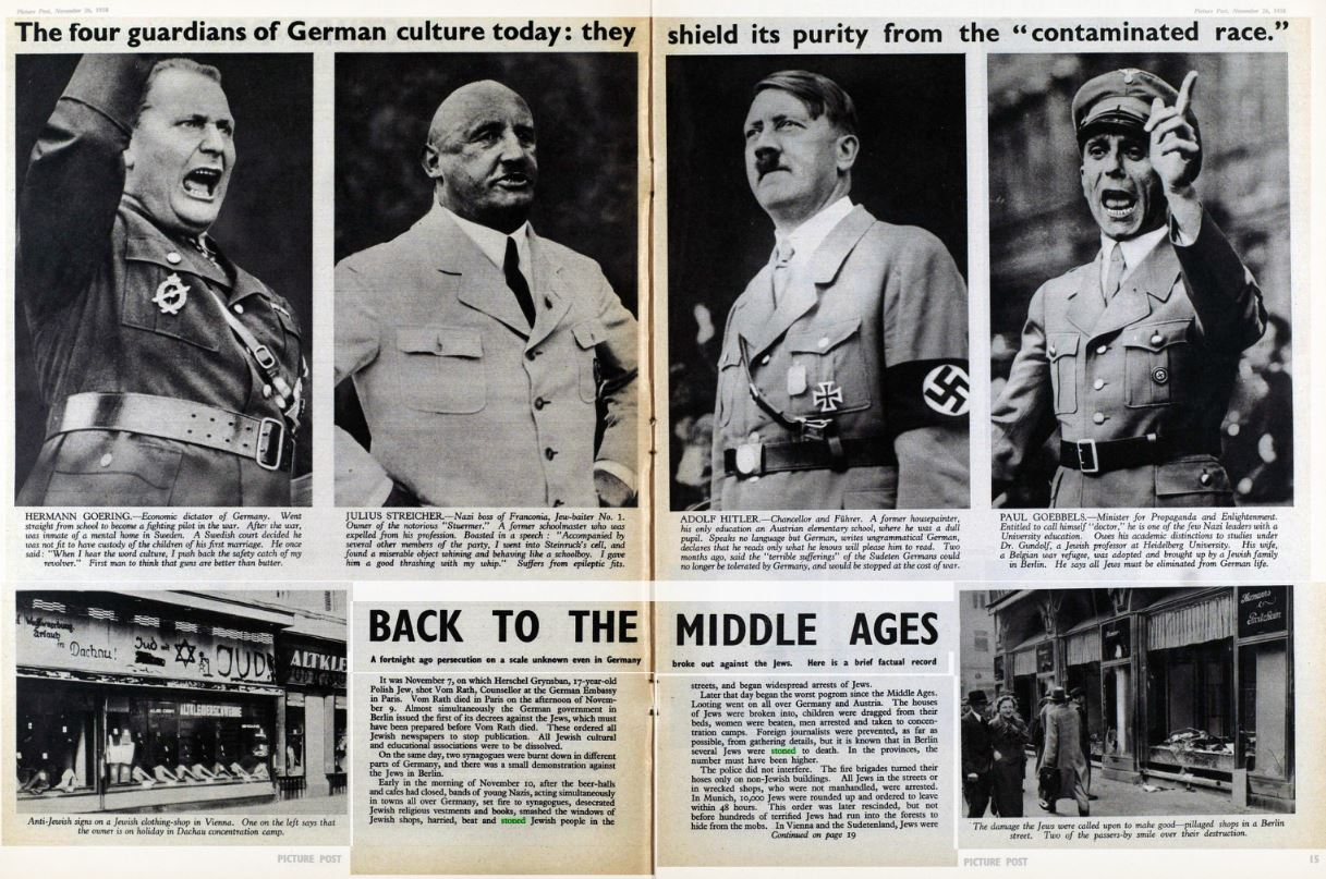 Contention in the British Press: The Rise of Fascism
