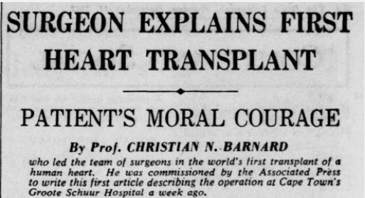 'So complex and vital an organ': 65 Years Since the First Successful Open Heart Surgery