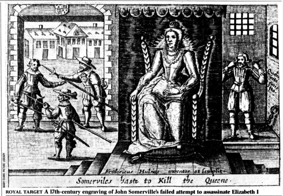 On Her Majesty's' Secret Service – Elizabeth I in the age of spies