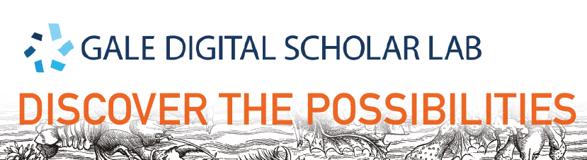 Gale and Digital Humanities: A Potted History
