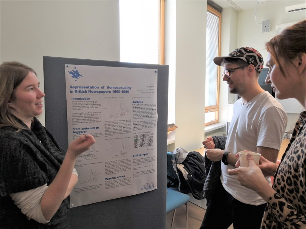 Students at the University of Helsinki discuss their projects which used the Gale Digital Scholar Lab