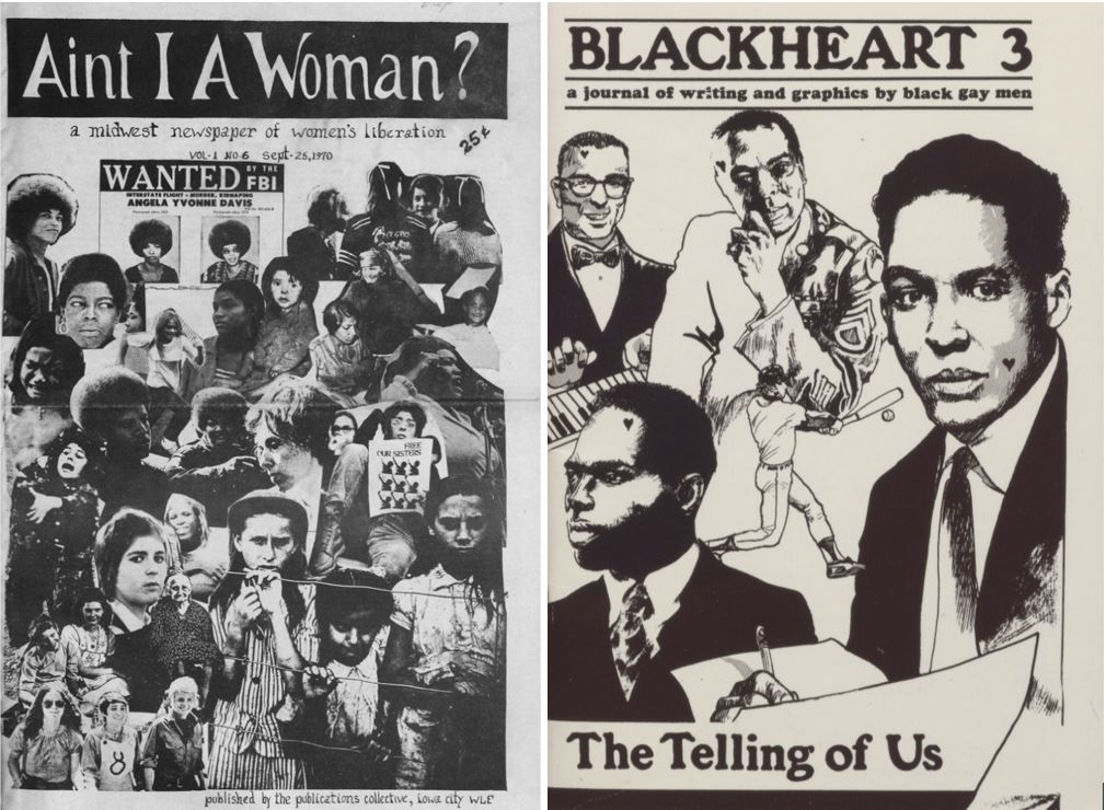 """""""Power to all the people or to none"""": Grassroots activism in amateur publications written by women, African Americans and the LGBT+ community"""