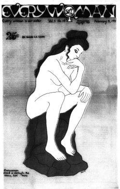 """Every Woman."" Everywoman, Feb. 1971, p. [1]. Women's Studies Archive,"