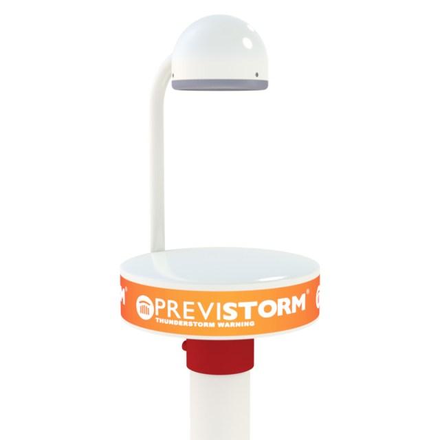 Previstorm Detector de tormentas