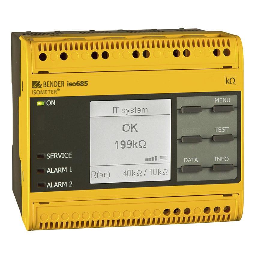 iso685 seguridad eléctrica en minas