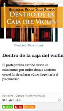 Caja violin LEEDONA