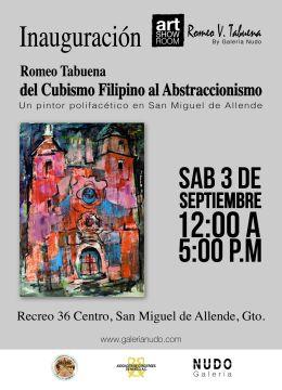 PUBLICACION EXPOSICION ROMEO TABUENA