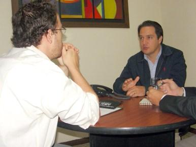 Gabriel Jaime Rico y Carlos Naranjo