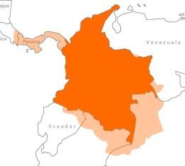 Territorio perdido por Colombia