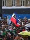 M-19 en manifestación contra destitución de Gustavo Petro