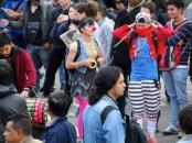 Manifestación contra destitución de Gustavo Petro