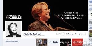 Facebook Michelle Bachelet