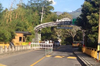 Portería ubicada en Amazonía, Bello