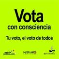 Vota con consciencia