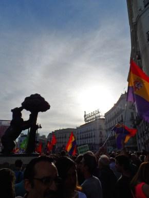 Manifestación Puerta del Sol España